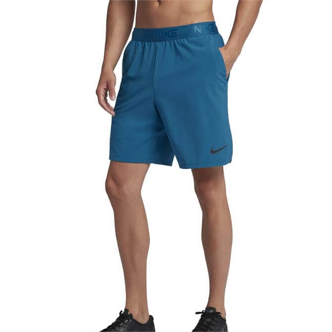 Nike Men's Flex Woven Fitness Shorts 21cm - Green Abyss