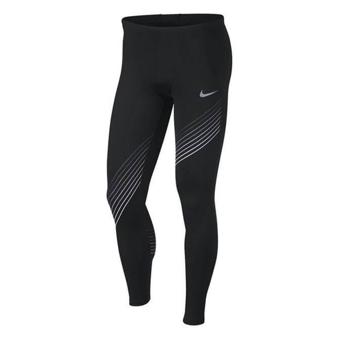 Nike Men's RUN Running Tights- Black