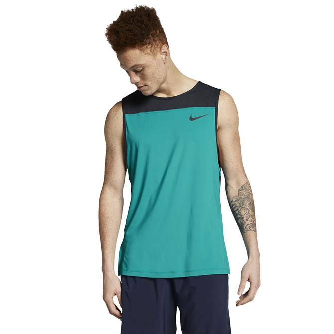 Nike Men's Pro Fitness Tank - Spirit Teal