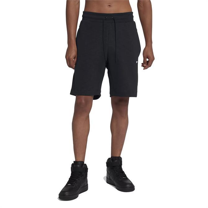Nike Men's Sportswear Optic Fleece Shorts - Black