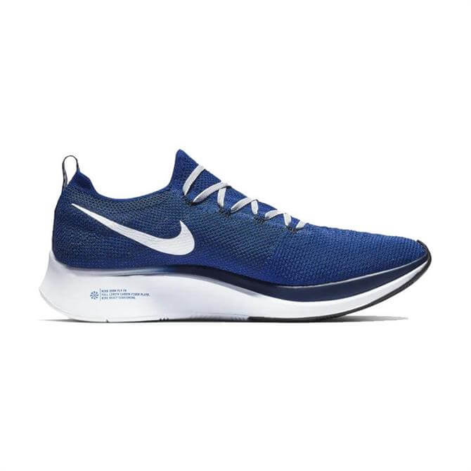 Nike Men's Zoom Fly Flyknit Running Shows - Deep Royal