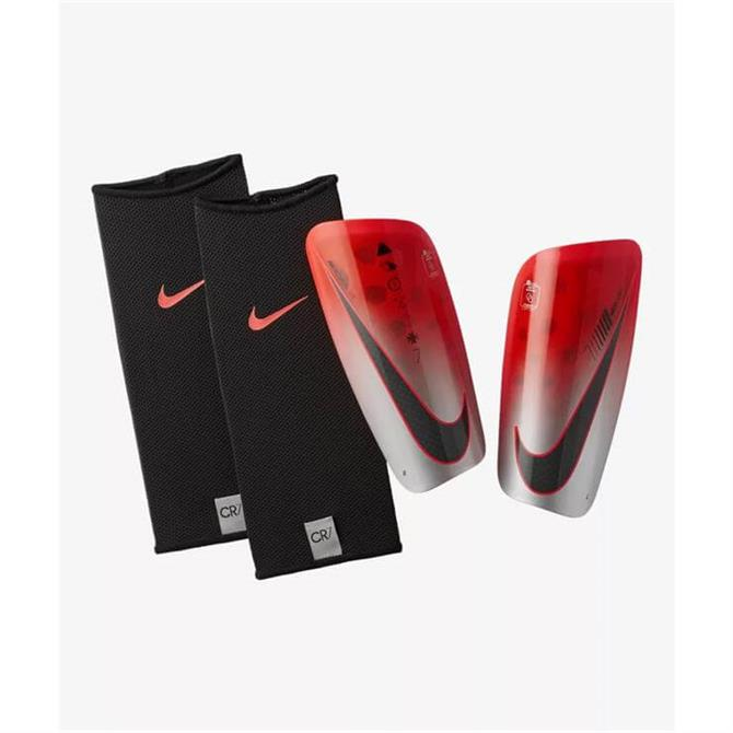 Nike CR7 Mercurial Lite Football Shinguards - Flash Crimson