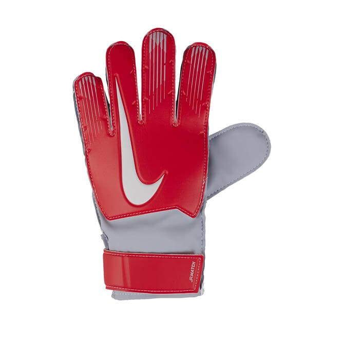 Nike Junior Match Goal Keeping Gloves-Light Crimson/Wolf Grey
