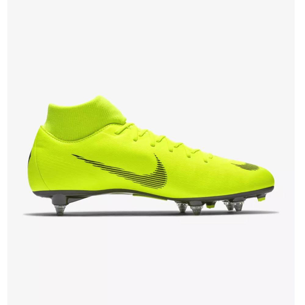 buy popular 47505 24ff5 Nike Mercurial Superfly VI Academy SG-PRO Soft-Ground Football Boot- Volt