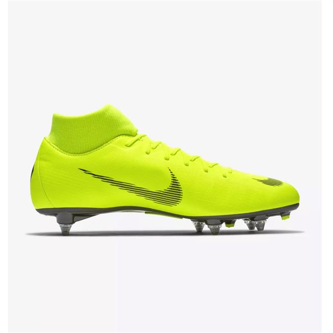 Nike Mercurial Superfly VI Academy SG-PRO Soft-Ground Football Boot- Volt