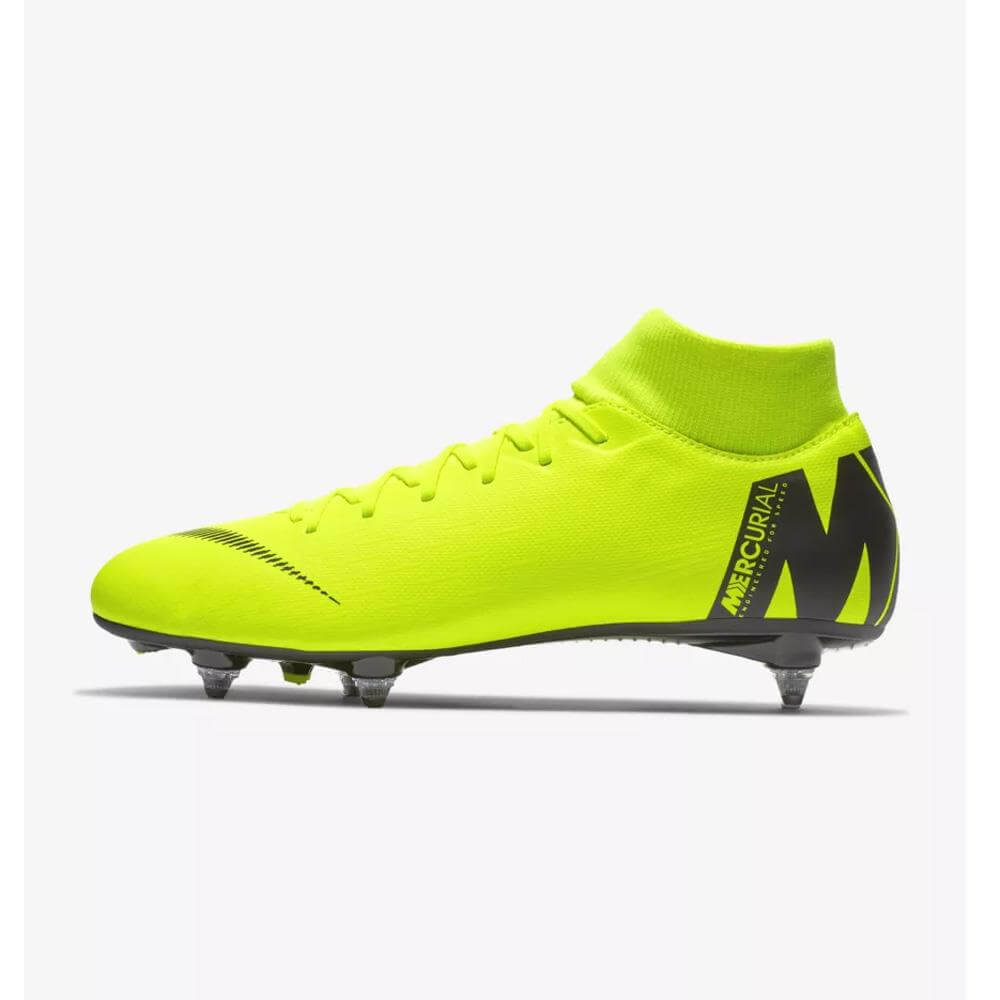buy popular 25be9 726fd Nike Mercurial Superfly VI Academy SG-PRO Soft-Ground Football Boot- Volt