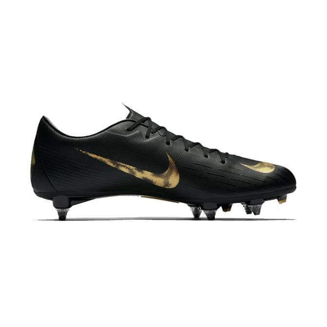Nike Men's Mercurial Vapor XII Academy Soft Ground PRO Football Boot - Black/Metallic