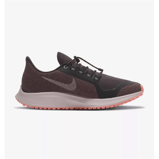 Nike Women's Air Zoom Pegasus 35 Shield Running Shoe- Oil Grey
