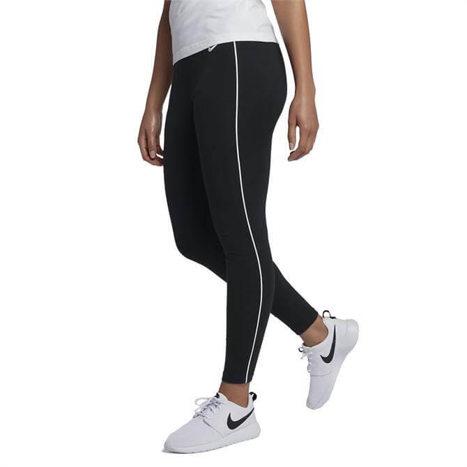 Nike Women's Sportswear Jersey Leggings - Black
