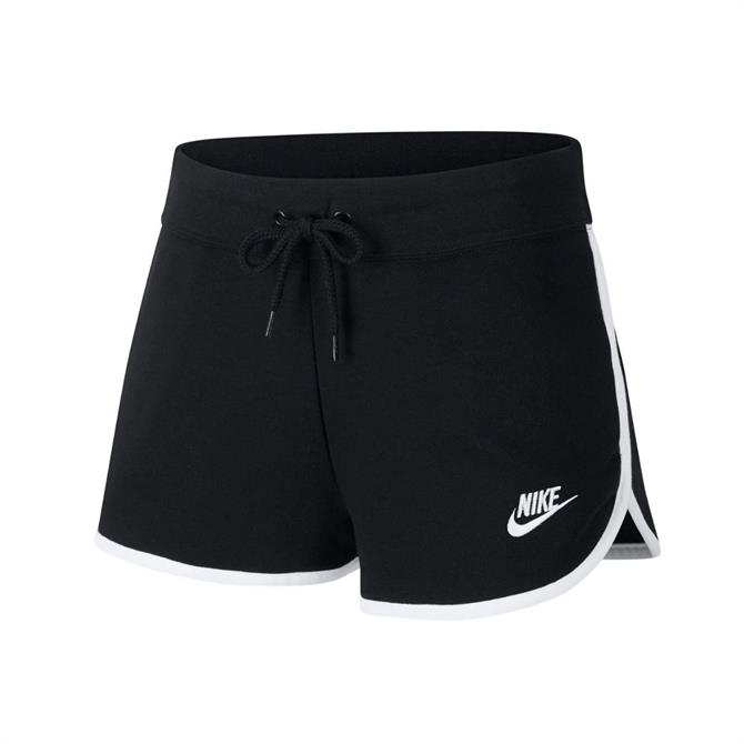Nike Women's Heritage Running Short - Black/White