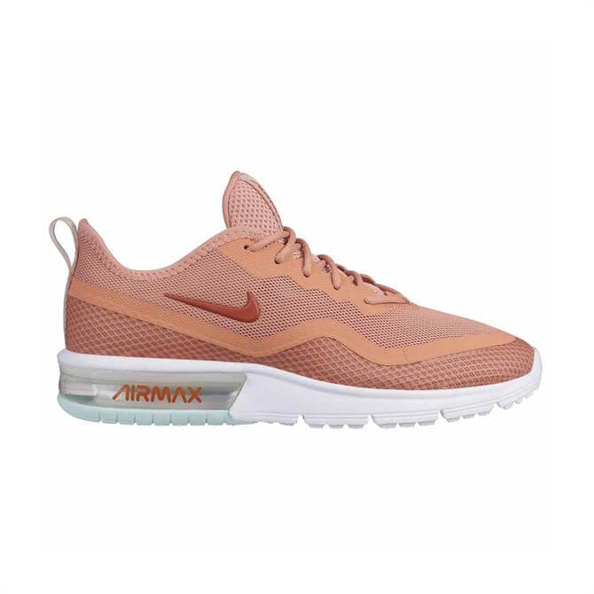 Nike Woman's Air Max Sequent 4.5 Trainers - Rose Gold
