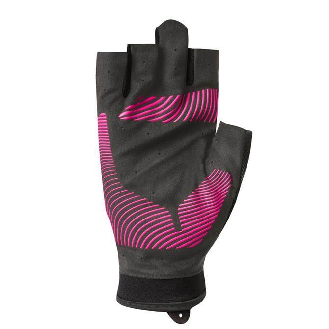 Nike Women's Havoc Training Gloves- Black/Hyper Pink
