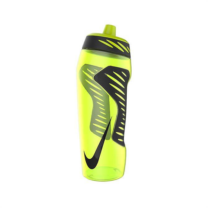 Nike HyperFuel Water Bottle 24oz- Volt Black