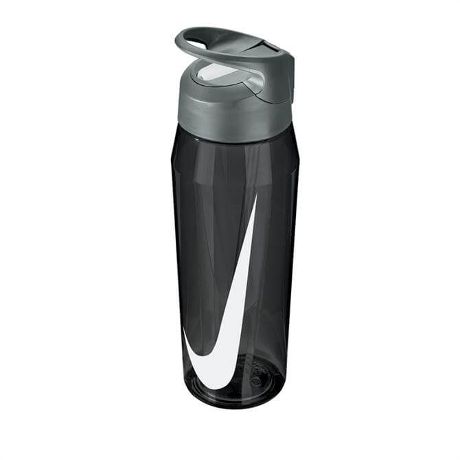 Nike Hypercharge Straw 16oz Water Bottle- Cool Grey