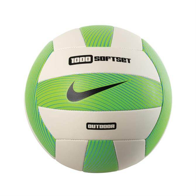 Nike 1000 Softset Outdoor Volleyball- Electric Green