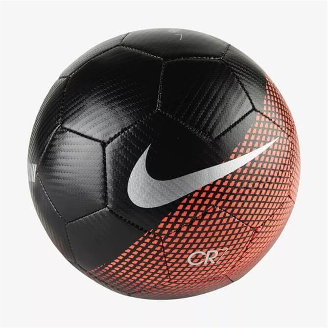 Nike CR7 Prestige Football- Black Flash Crimson