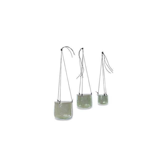 Nkuku Viri Emerald Hanging Planter