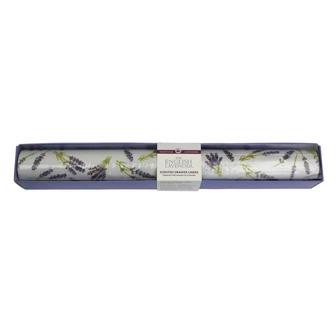 Norfolk Lavender Drawer Liners Boxed X6