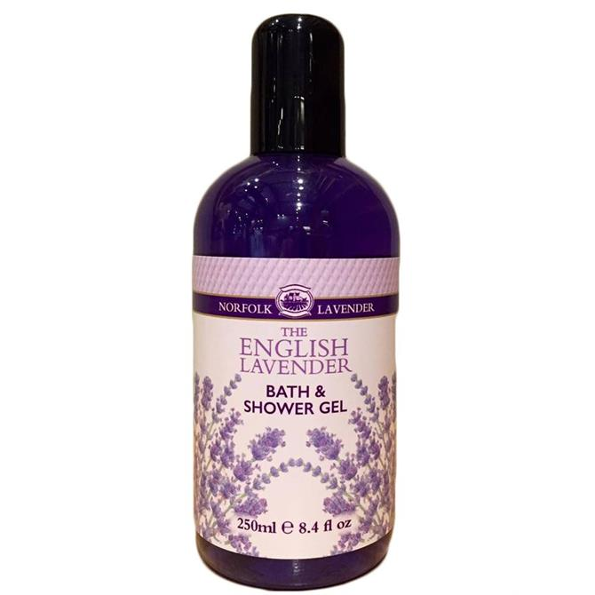 Norfolk Lavender Bath & Shower Gel 250ml