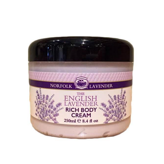 Norfolk Lavender Rich Body Cream 250ml