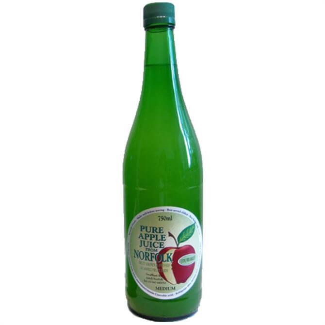 Norfolk Pure Apple Juice - Bramley & Cox 750ml