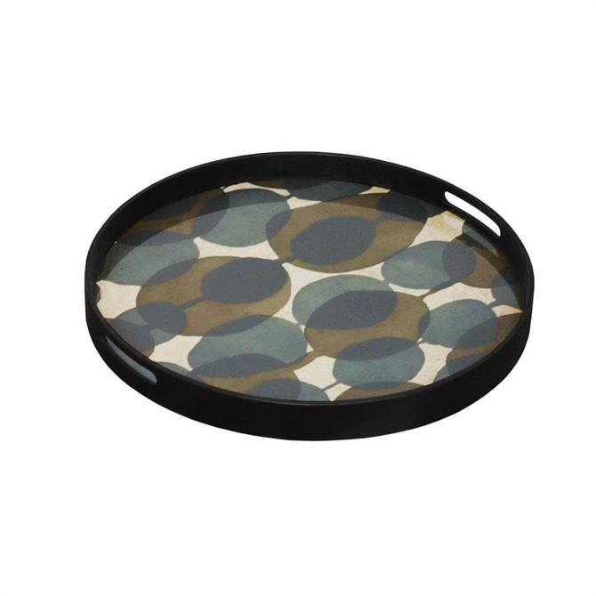 Notre Monde Connected Dots Glass Tray Small