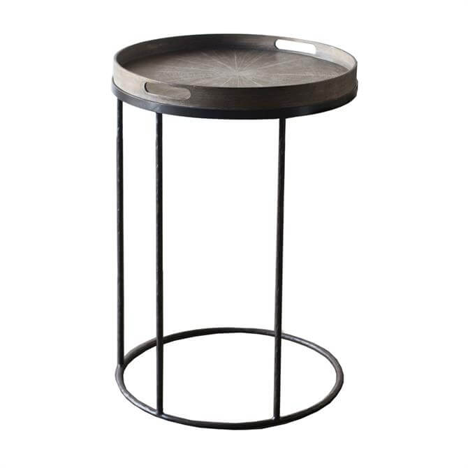 Notre Monde Round Tray Table Small