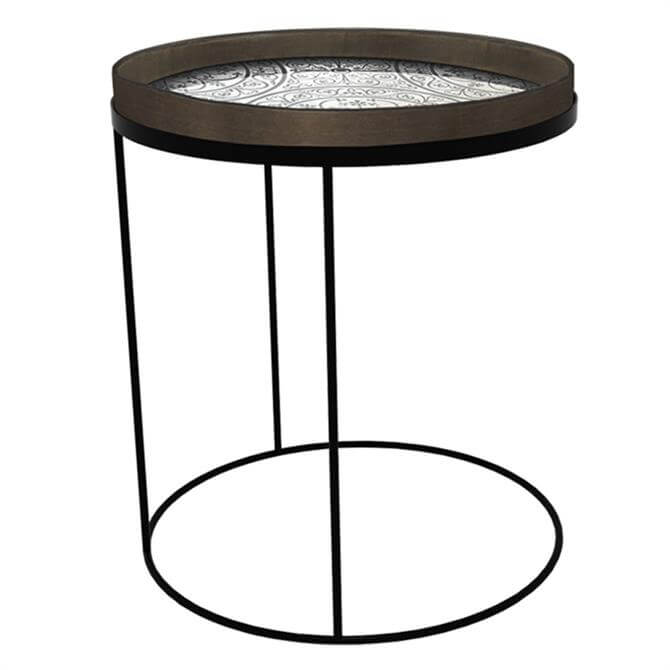Notre Monde Round Tray Table High Large