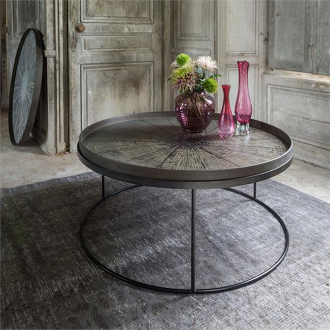 Notre Monde Round Tray Table Low XL