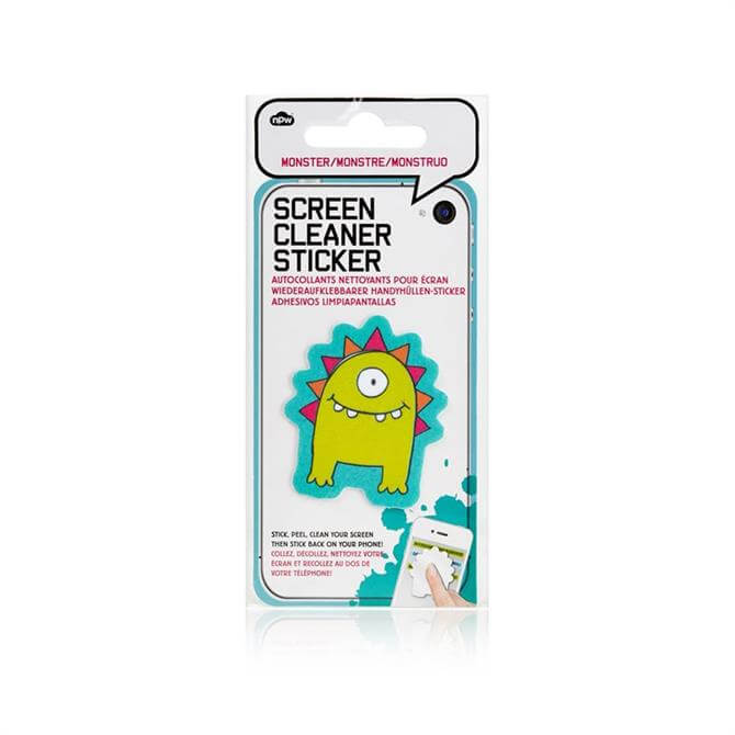 NPW Screen Cleaner Stickers