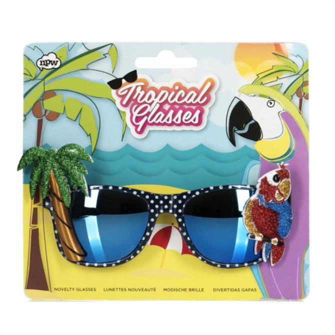 NPW Tropical Parrot Glasses