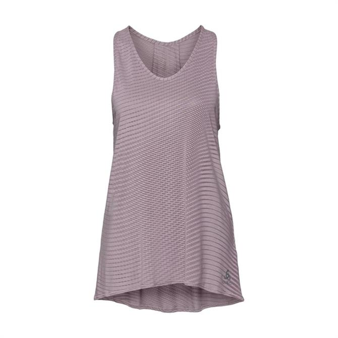Odlo Women's Alma Natural Singlet Workout Top - Quail