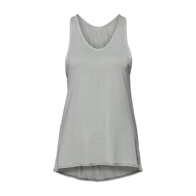 Odlo Women's Alma Natural Singlet Workout Top - Light Grey