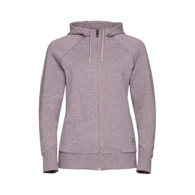 Odlo Women's Alma Natural Full Zip Hoodie - Quail