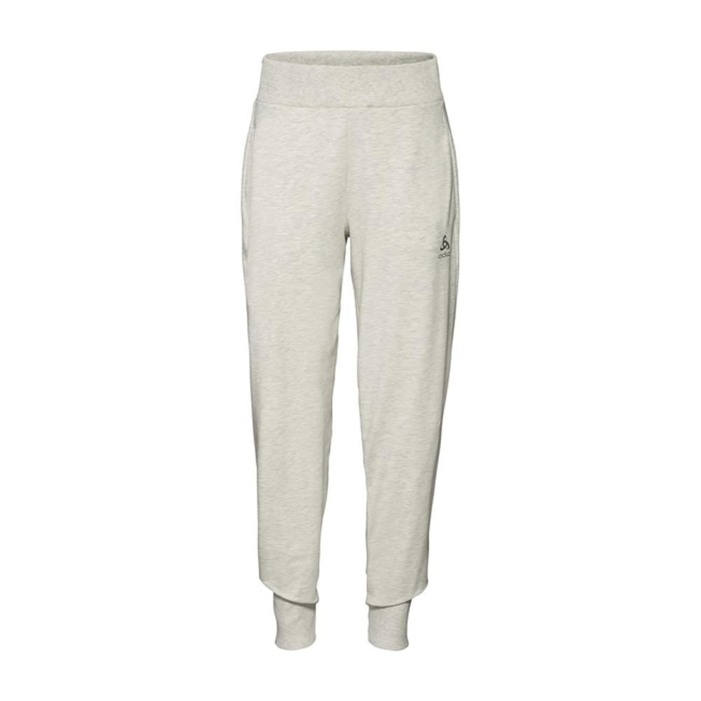 An image of Odlo Women's Alma Natural Sweatpants - Light Grey - S, LIGHT GREY