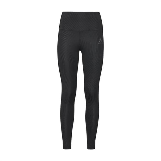 Odlo Women's Lou Medium BL Fitness Tights - Black