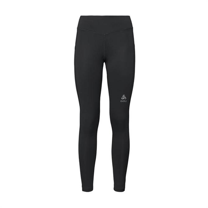 Oldo Women's Smooth Soft BL Long Fitness Tights - Black
