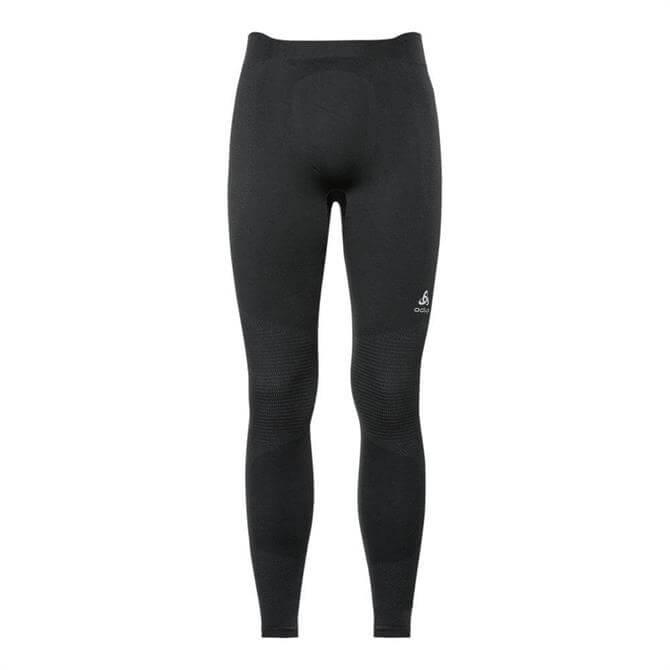 Odlo Men's Winter Performance Long Sleeve Base Layer Pant- Black