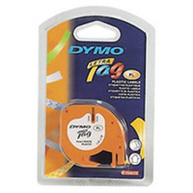 Dymo Letratag Paper Tape 12mmx4M