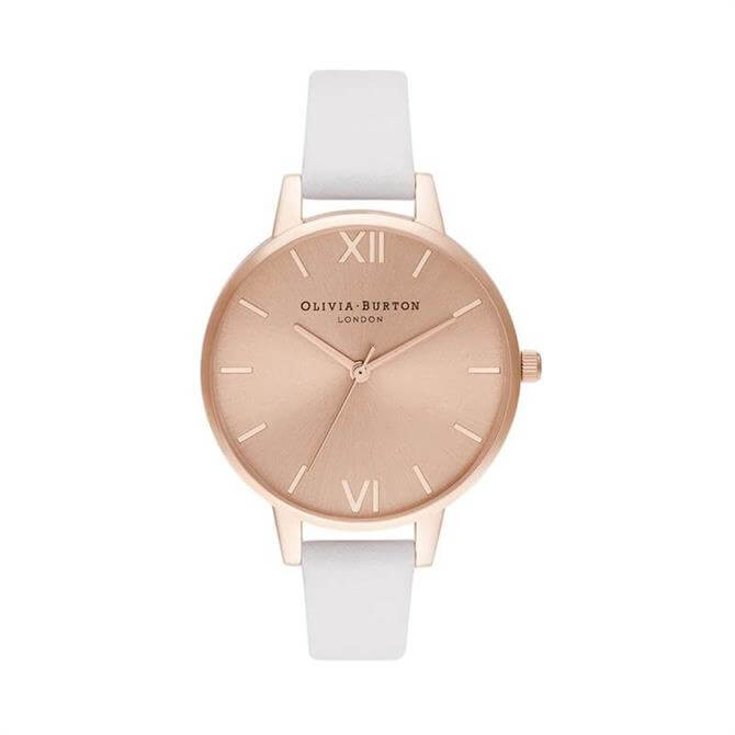 Olivia Burton Demi Sunray Blush & Pale Rose Gold Watch