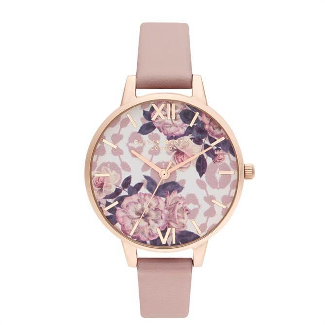 Olivia Burton Wild Flower Vegan Rose & Pale Rose Gold Watch