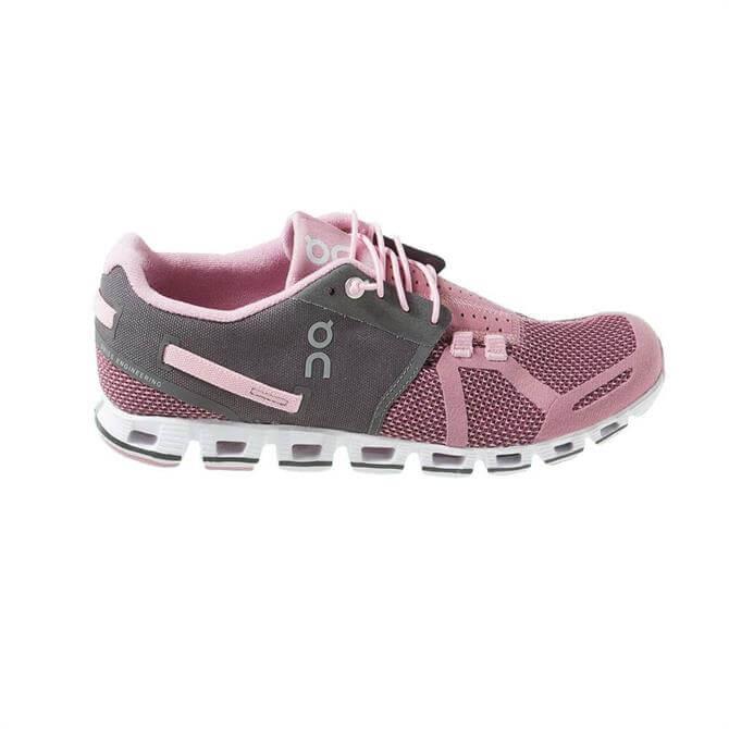 On The Cloud Women's Running Shoe- Charcoal/Rose