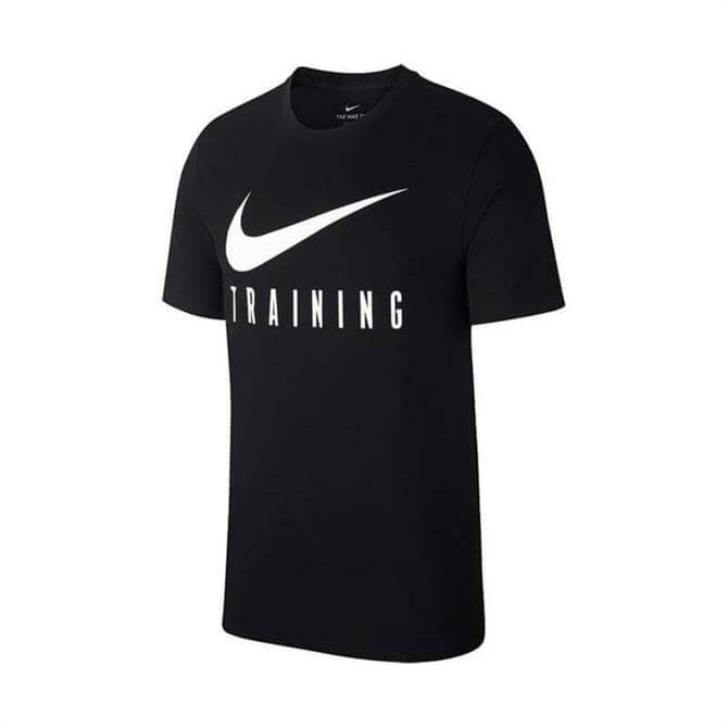 Nike Men's Dry Training Short Sleeve T-Shirt - Black