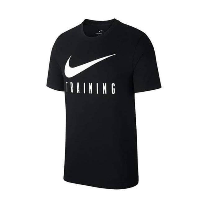 Nike Men's Dry Training Short Sleeve T-Shirt - Black