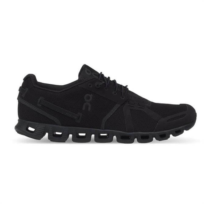 On Men's The Cloud Running Shoes AW17- All Black