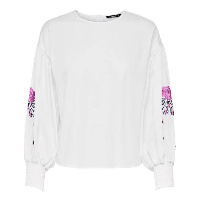 Only Elena Embroidery Blouse