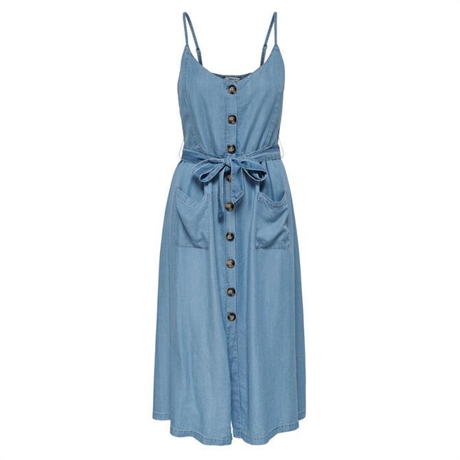 Only Wanda Denim Midi Dress