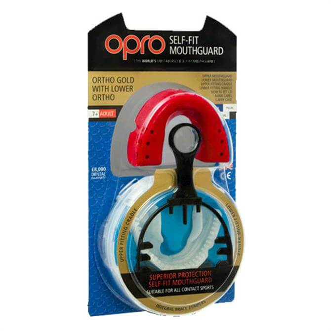 Opro Ortho Gold With Lower Sports Mouthguard