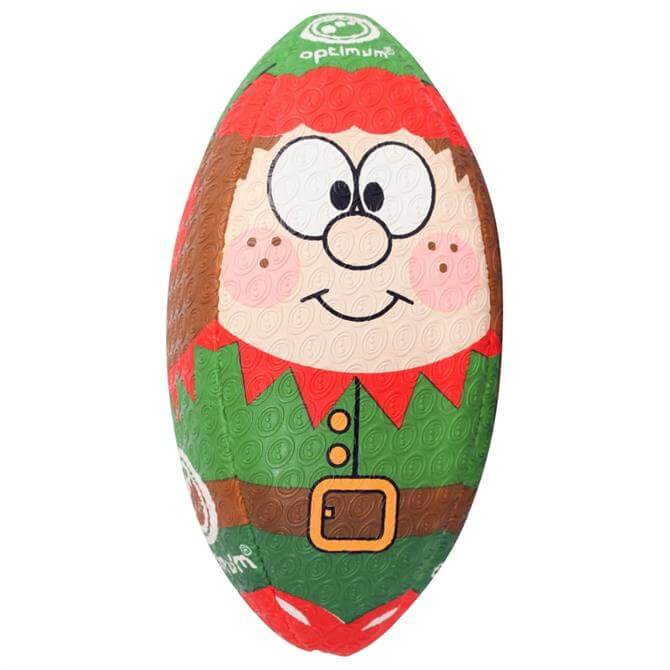 Optimum Christmas Elf Rugby Ball