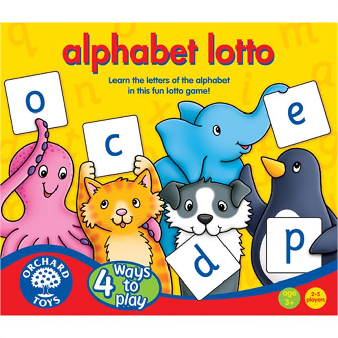 Orchard Alphabet Lotto